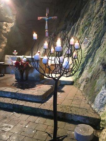 Gorges de Galamus: Candelabro