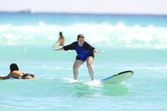 Big Wave Dave Surf Co: Having a blast!