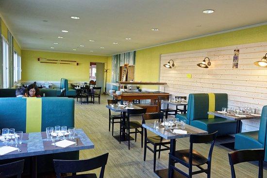 Serigne, Fransa: La salle à manger donne une idée de la qualité de l'hotel