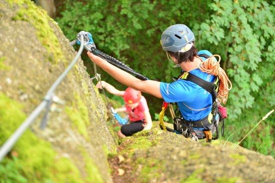 Klettersteig Austria : Klettersteig route im hsg picture of allerheiligen muhlkreis