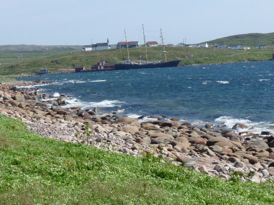 Red Bay, Canadá: ship from trail