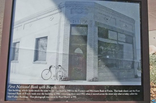 Historic sign - Aspen Street Coffee was a bank building