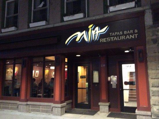 Mia Tapas Bar and Restaurant: Mid-week dinner