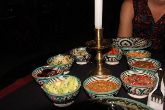Le Marrakchi: Moroccan salads