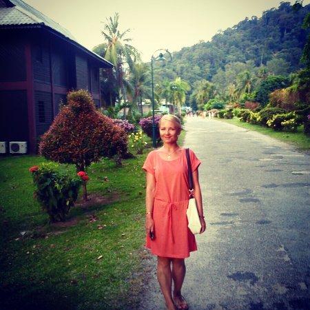 Berjaya Tioman Resort - Malaysia: Очень большая территория отеля!!