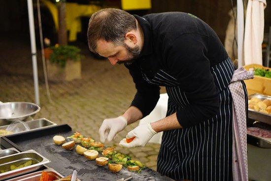 Rodishain, Deutschland: Galloway Burger vom Grill