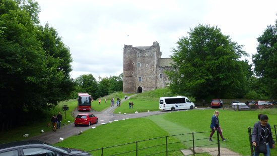 Doune Castle from ticket house