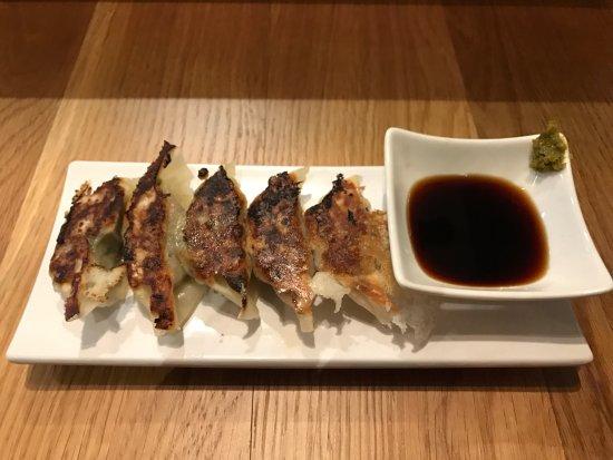 Hide-Chan Ramen: Fried pork dumplings