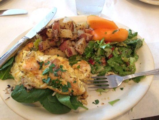 Fayetteville, AR: Shrimp Omelet