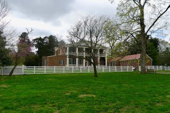 Andrew Jackson's Hermitage : The back of the house