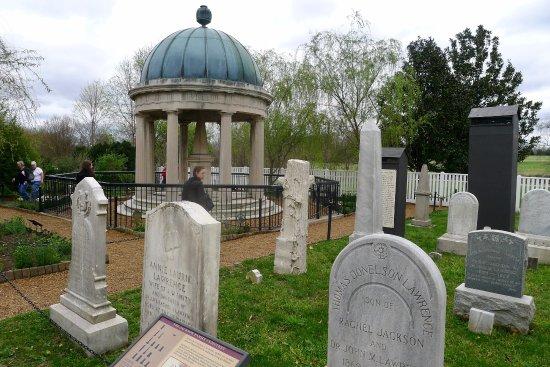 Andrew Jackson's Hermitage : Graveyard