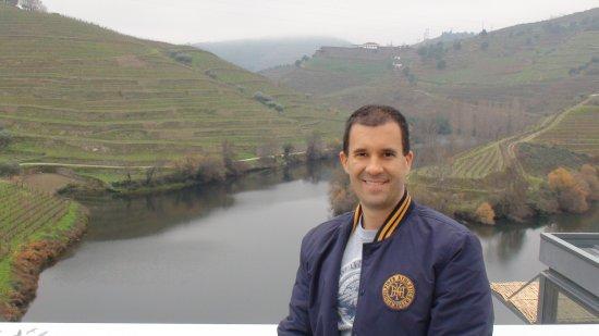Folgosa, Portugal: Ivan Mercadante Boscardin na Quinta do Tedo