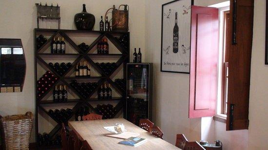 Folgosa, Portugal: Interior do wine experience da quinta do Tedo