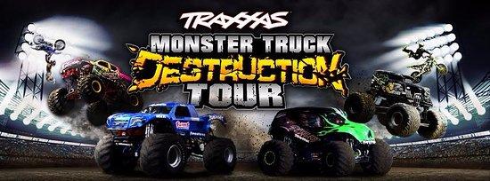 The Traus Monster Truck Destruction