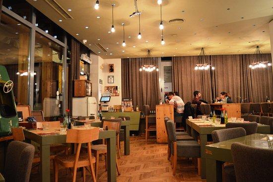 "Raketa Rakia Bar: ""Raketa"" resaurant with retro feeling :-)"