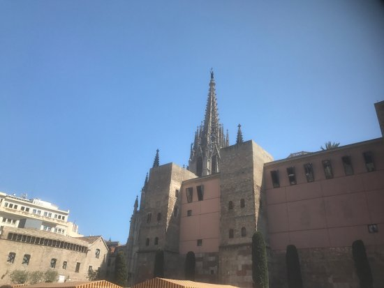 Catalonia Catedral: The Barcelona Catherall I minutes walk from Hotel