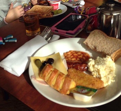 Enderby, UK: Breakfast
