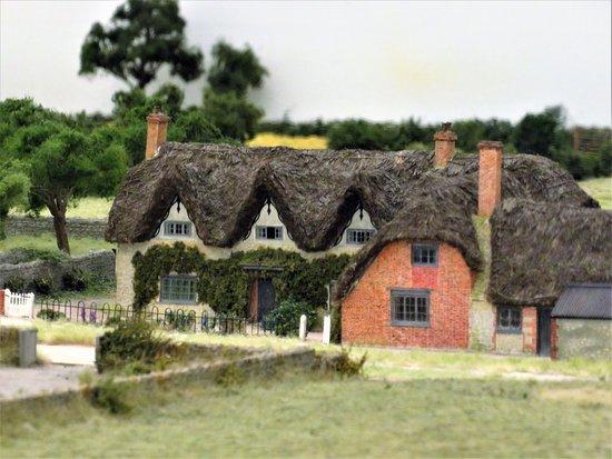 Long Wittenham, UK: Model House in Pendon Museum
