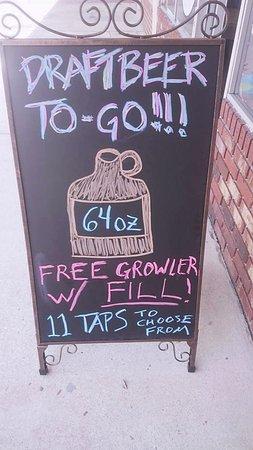 Palatka, FL: Growlers to Go