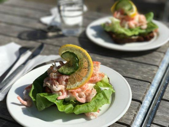 Molle, İsveç: open sandwich