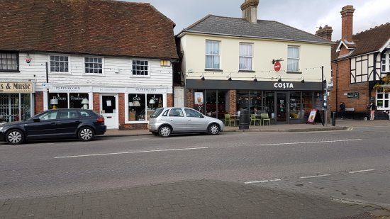 Headcorn, UK: Costa Coffee