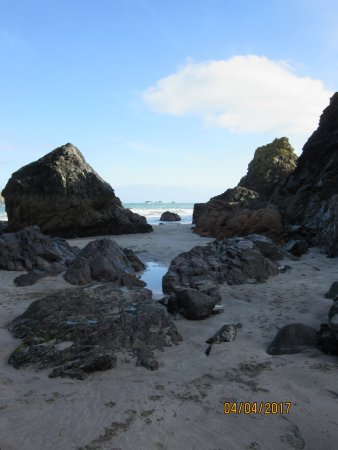 Lizard, UK: Kynance Cove Beach Cornwall