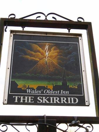Llanvihangel Crucorney, UK: Wales' Oldest Inn - The Skirrid Inn (20/Apr/17).