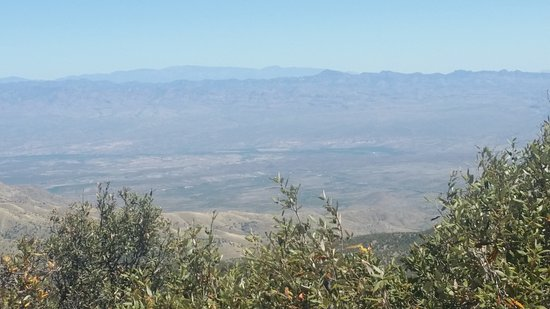 Mt. Lemmon Scenic Byway: View from the Ski Valley.