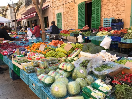 Santanyi, Spanje: Beautiful Market