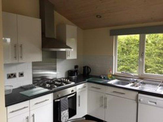 Easingwold, UK: Pine kitchen