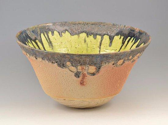 Washington, VA: Porcelain bowls handmade by local artist Virginia Pates.