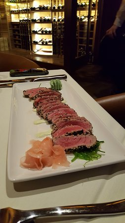 Ashburn, VA: Sesame Ahi Tuna -- excellent!