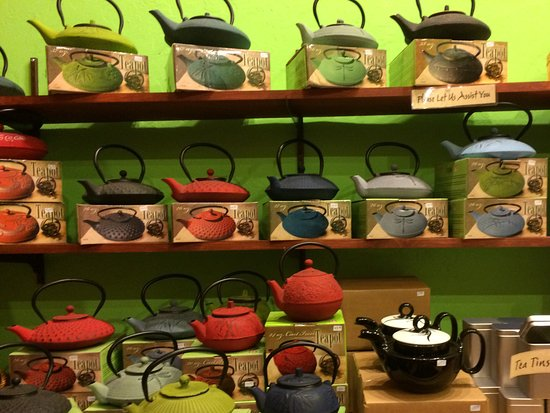 Black Mountain, NC: Tea pot selections