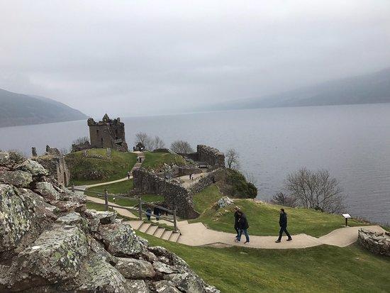 Urquhart Castle : Lago Ness e Urqhuhart Castle História ao vivo