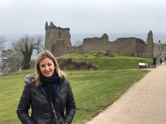 Urquhart Castle : Lago Ness e Urqhuhart Castle