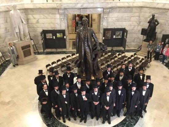 Frankfort, Кентукки: Abraham Lincolns visit State Capital