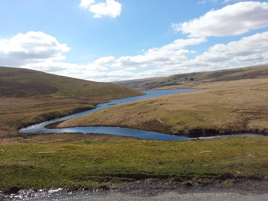 Rhayader, UK: elan valley