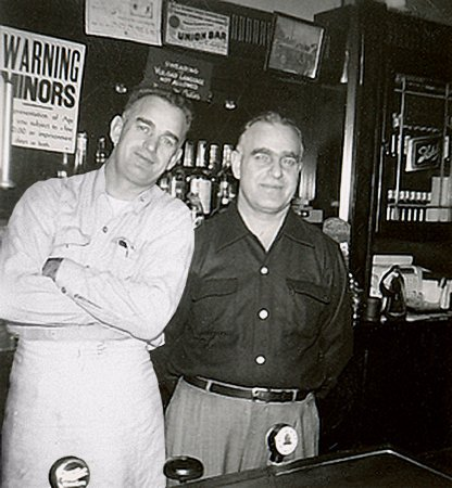 Racine, WI: Brothers Chris and George founded George's Tavern in 1946.