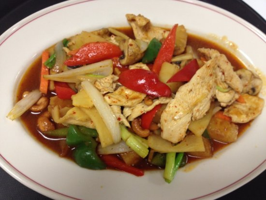 Whitinsville, MA: Chicken Cashew.