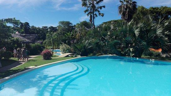 Loharano Hotel: piscina e giardino
