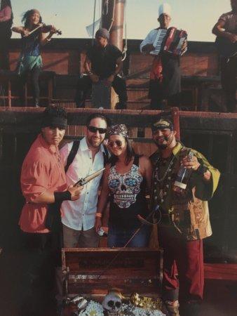 Pirate Ship Vallarta : Awesome night Wolf was amazing pirate