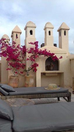 Riad Vert Marrakech: Roof Top