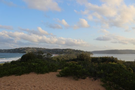 Palm Beach: View from the sand dunes
