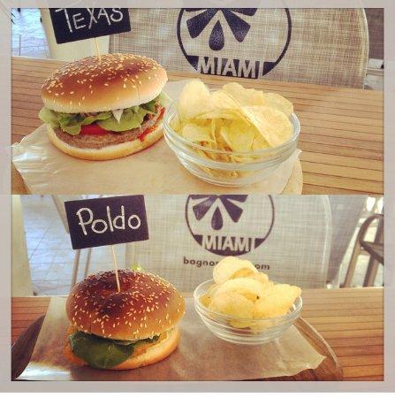 Lido degli Scacchi, Italy: ¡Hamburger!