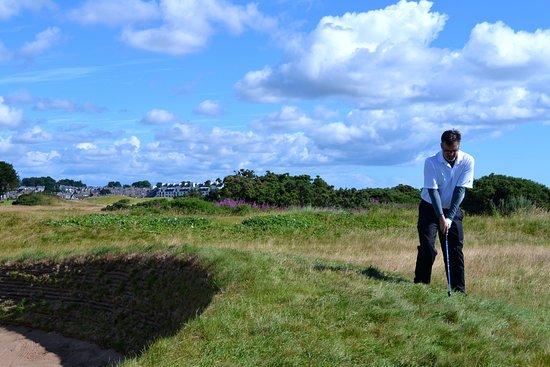 Carnoustie, UK: In the Weeds