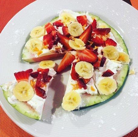 Capileira, Spanyol: Pizza de frutas