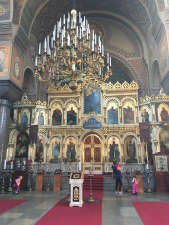 Cathédrale Ouspenski : inside