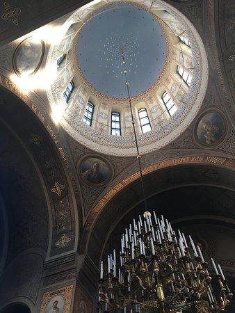 Cathédrale Ouspenski : Looking up