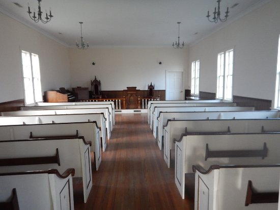 Boothbay, ME: Inside the Old Chapel