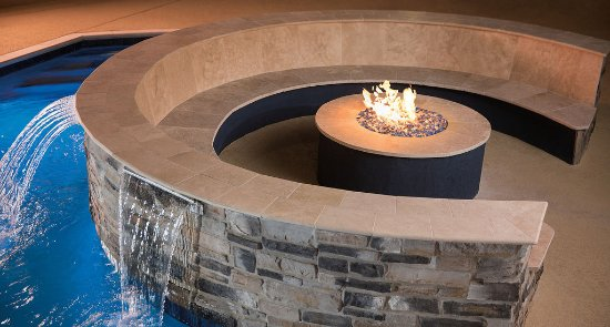 Relax near our Firepit at Courtyard by Marriott Houston Northwest/Cypress.
